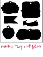 wonky tag cut files